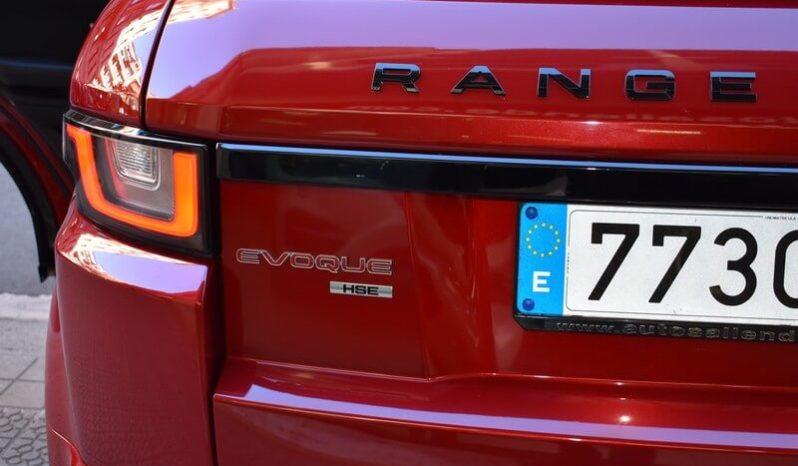 LAND ROVER RANGE ROVER EVOQUE 2.0L TD4 4X4 HSE DYNAMIC AUT.132 KW (180 CV) completo