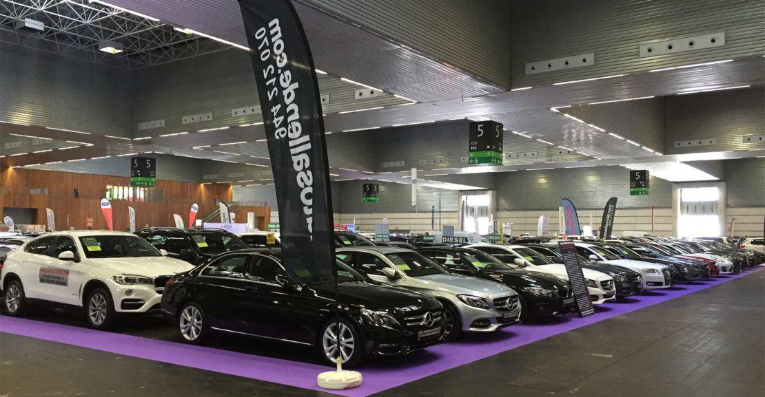 Feria automóviles de ocasión - Automóviles Allende