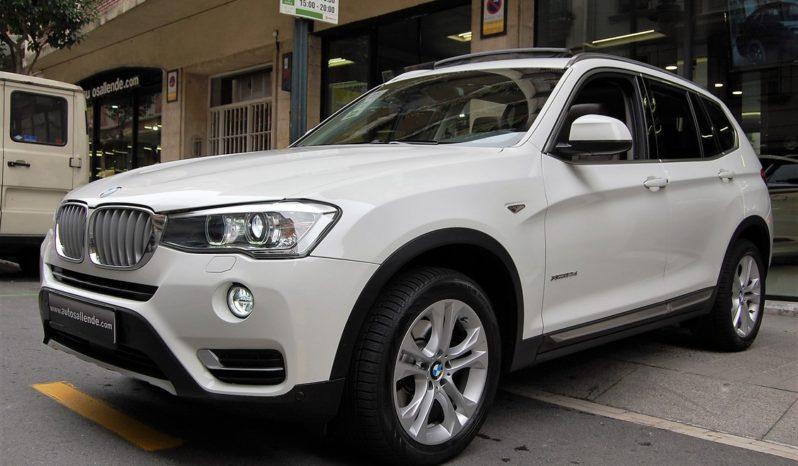 BMW X3 3.0D/A xDRIVE 258 cv XLINE PANORAMA lleno
