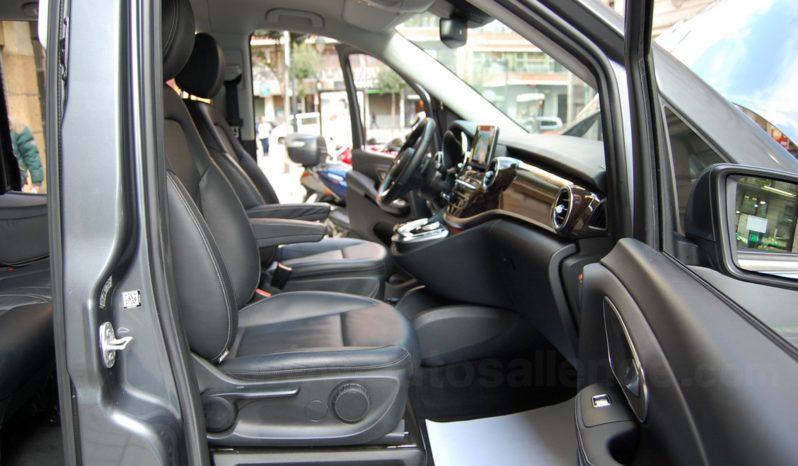 MERCEDES BENZ V-250 CDI BLUETEC LARGO AVANTGARDE 7G-TRONIC lleno