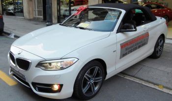 BMW 218D CABRIOLET SPORT LINE NAVI