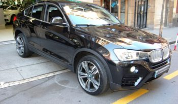 BMW X4 3.5D/A XDRIVE 313 CV H&K 20″ NAVI CAMARA lleno