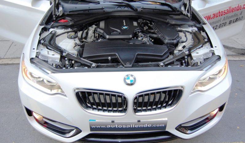BMW 218D CABRIOLET SPORT LINE NAVI lleno