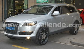 AUDI Q7 TDI QUATTRO TIPTRONIC SIDE ASSIST
