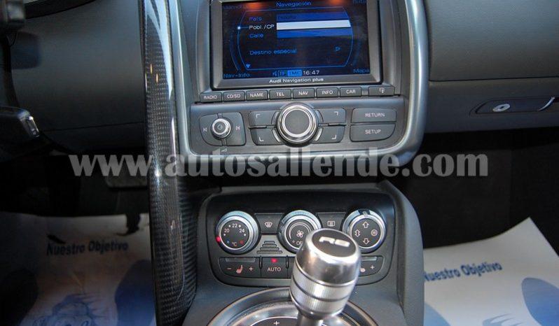 AUDI R8 4.2 FSI QUATTRO R-TRONIC CARBONO lleno