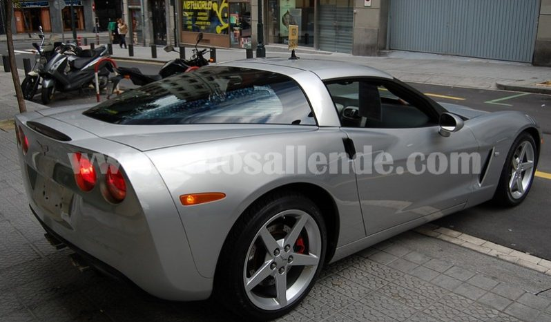 CORVETTE C6 V8 PACK LUXURY lleno