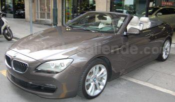 BMW 640D CABRIO 313 CV