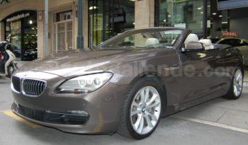 BMW 640D CABRIO 313 CV lleno