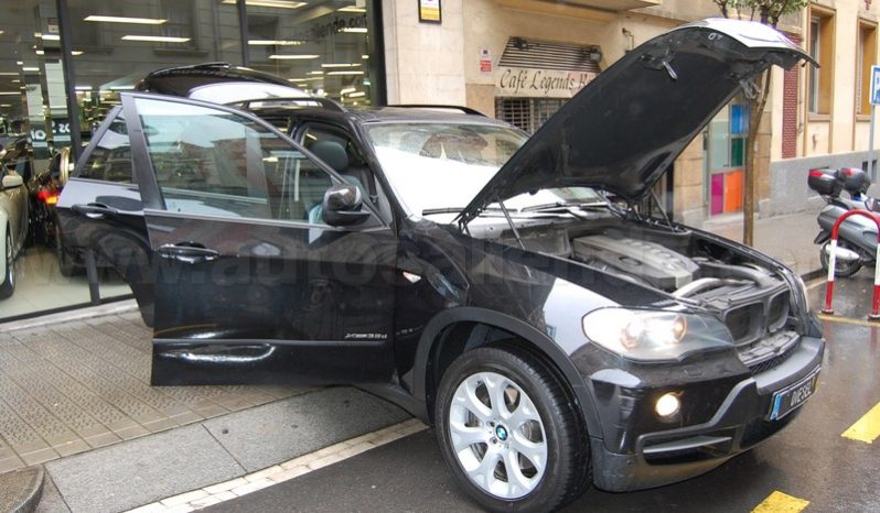 BMW X5 3.5D XDRIVE 286 CV NEGRO lleno