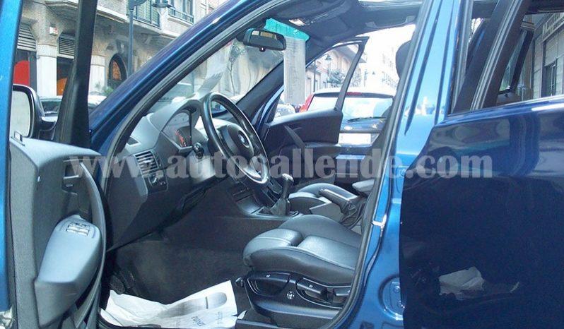 BMW X3 3.0D PACK SPORT lleno