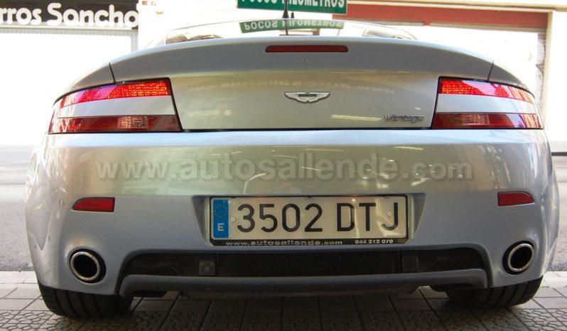 ASTON MARTIN VANTAGE V8 lleno