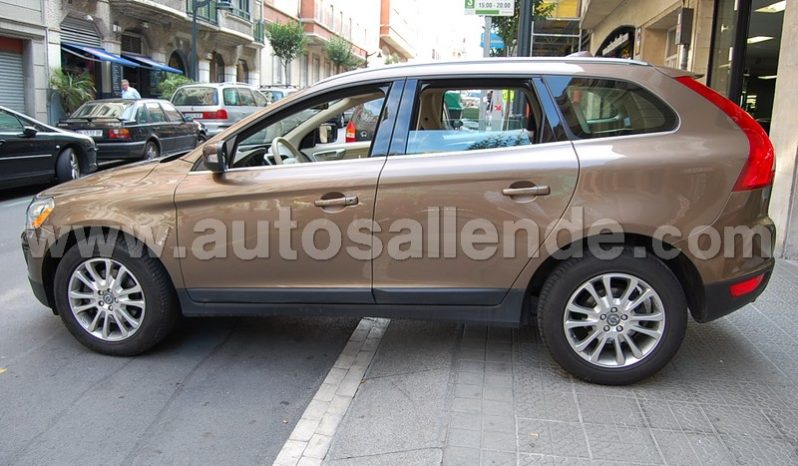 VOLVO XC60 D5 SUMMUM AWD AUT. MARRON lleno